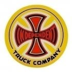 Independent Stickers: Sticker 77 Truck Co 15 YL