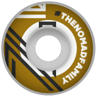 Nomad Wheels: Hashtag Gold (55 mm)