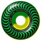Spitfire Wheels: F4 99 Classic Green Yellow Swirl (52 mm)