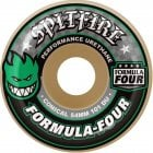 Spitfire Wheels: F4 101A Conical Green Print (52 mm)