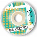 BDSkateCO Wheels: Leaves #2 (54 mm)