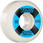 Bones Wheels: 100's #4 V5 OGF White 100A (53 mm)