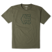 Etnies T-Shirt: Icon Outline SS Tee GN