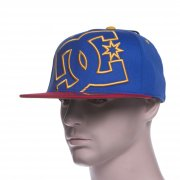DC Shoes Cap: Ya Heard PRM BL/RD/YL