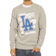 Majestic Sweatshirt: Graphic Crew LA Dodgers GR