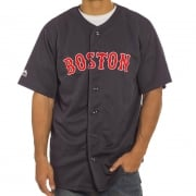 Majestic Shirt: MLB Replica Jersey Boston NV