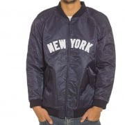 Majestic Jacket: Soft Touch Varsity Yankees NV