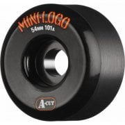 Mini-Logo Skateboards Wheels: A-Cut Black (56 mm / 101A)