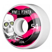 Powell Peralta Wheels: Ripper 4 White (54 mm)