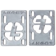"Lucky Riser Pads: Risers 1/8"" Silver"