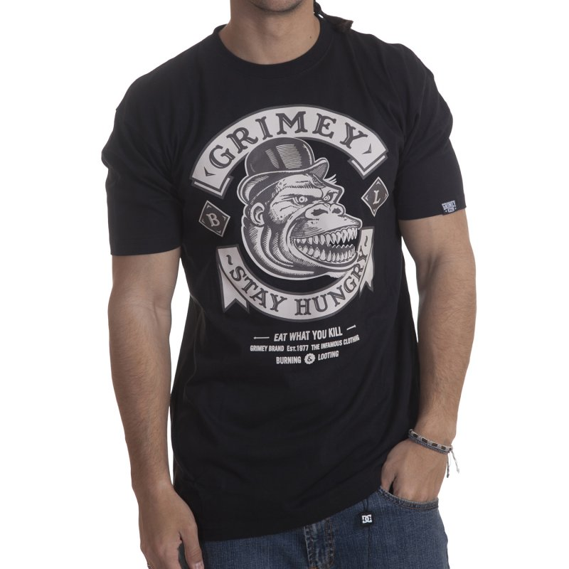 Grimey T-Shirt  Stay Hungry BK 606c80e4229