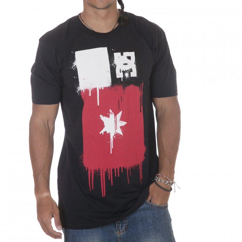 6b1d0d23d11b6a DC Shoes T-Shirt  Sprey BK