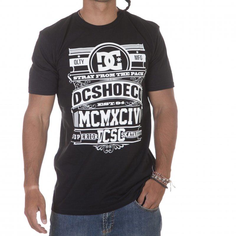 5bdee46a3b2bfb DC Shoes T-Shirt  Graveyard BK