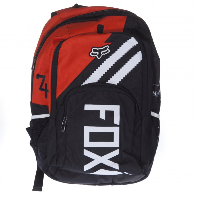 c43a07bee8 Fox Racing Back Pack: Let's Ride Orange Os BK/OR | Buy Online | Fillow  Skate Shop