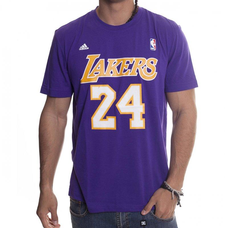 online store 95ba1 908c5 Adidas NBA T-Shirt: LA Lakers Gametime PP | Buy Online ...