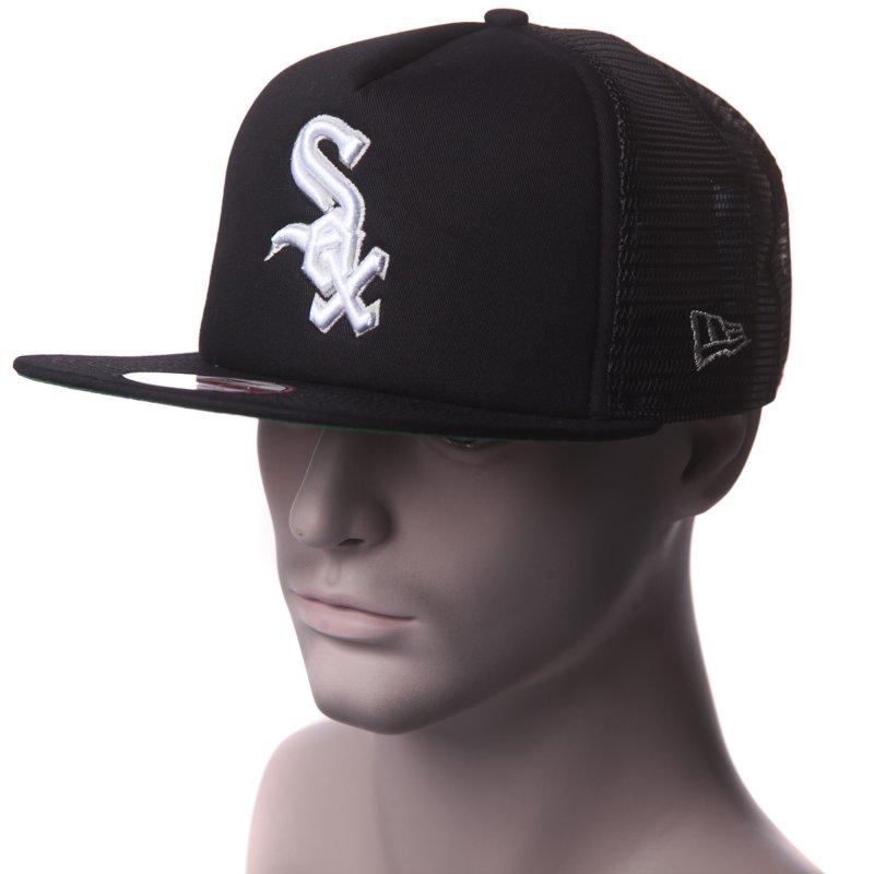 f1aed5c13 New Era Cap: Basic Mesh 950 Chicago White Sox OTC BK
