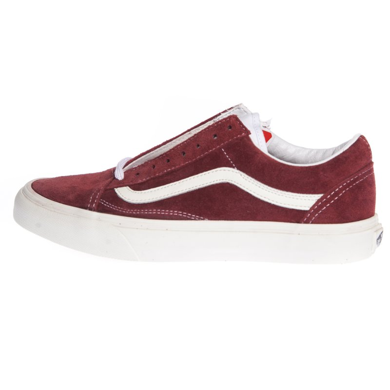 Vans Girl Shoes  Old Skool (Vintage) Rio Red RD  630d2c41b6