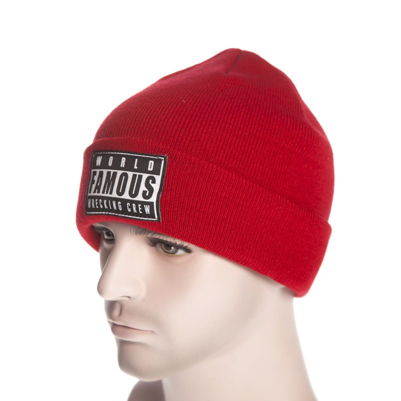 cad0a3f9336 Famous Stars and Straps Beanie  WFWC Roll Up RD