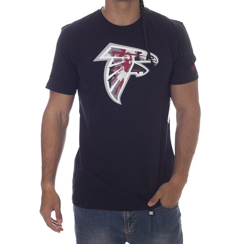 the latest 9889c 379cc New Era T-Shirt: NFL Atlanta Falcons Camo BK   Buy Online ...