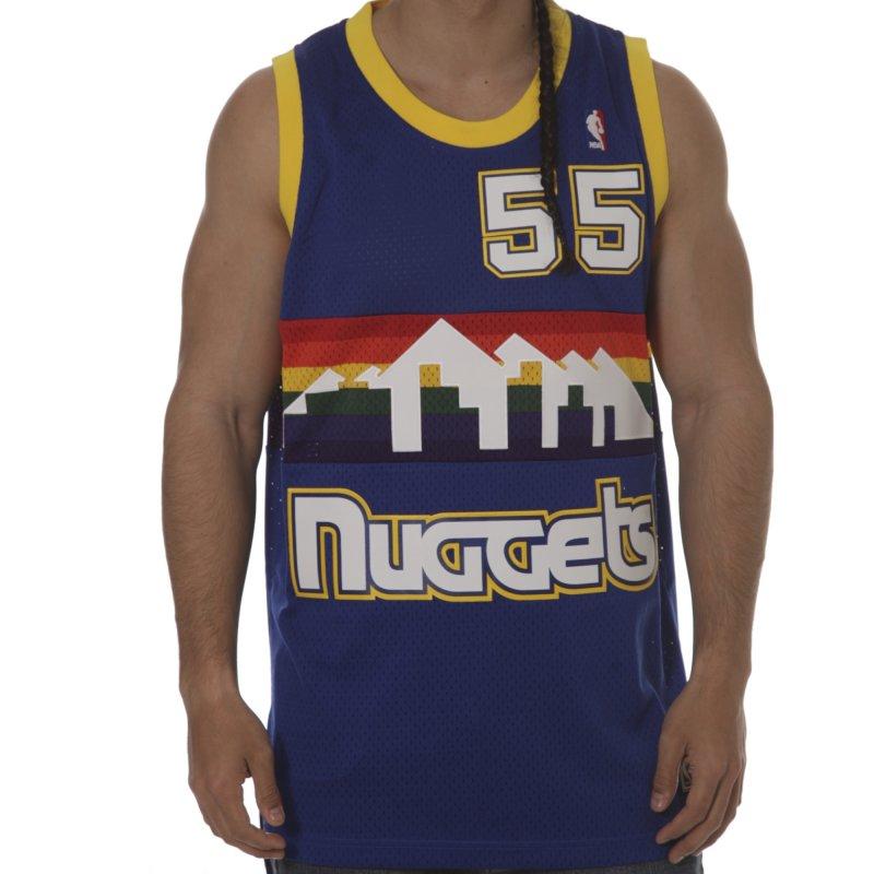 new arrival 5d6f1 8d3d1 adidas Jersey: NBA Denver Nuggets Mutombo #55 Intl Retired ...