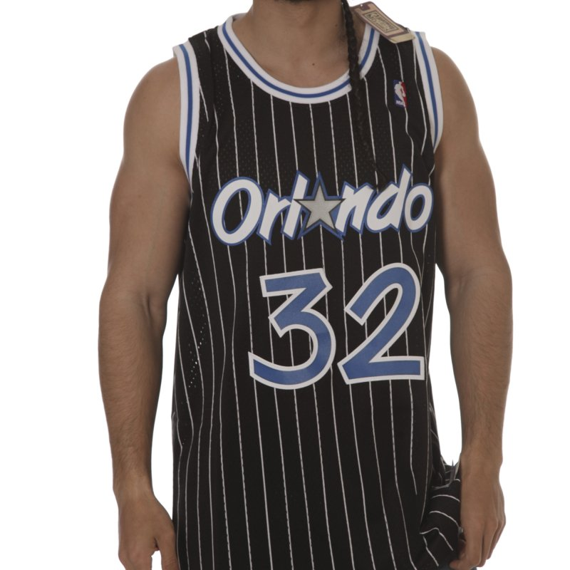 outlet store 7fbe3 4027f adidas Jersey: NBA Orlando Magic O'Neal#32 Intl retired BK ...