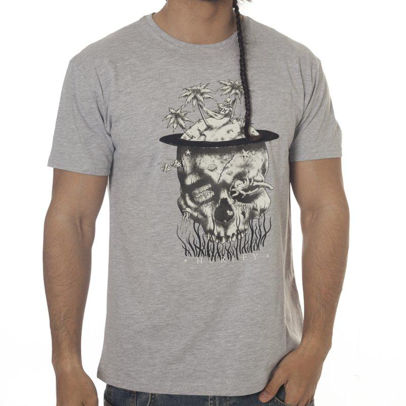 0a60cd5512 Hurley T-shirt  Palm Tree Skull GR