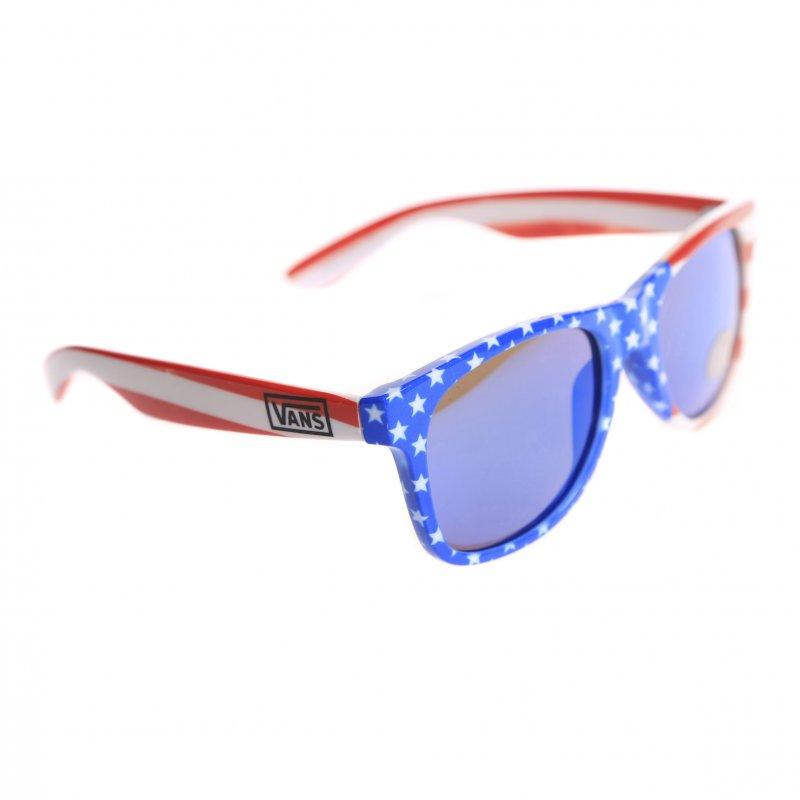 22cb2b4496 Vans Sunglasses  Spicoli 4 Shade Flag BL RD