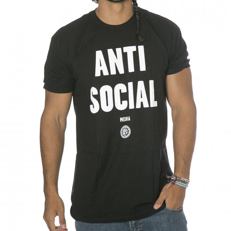 079183ae2 Obey T-Shirt: Anti-Social Media BK | Buy Online | Fillow Skate Shop