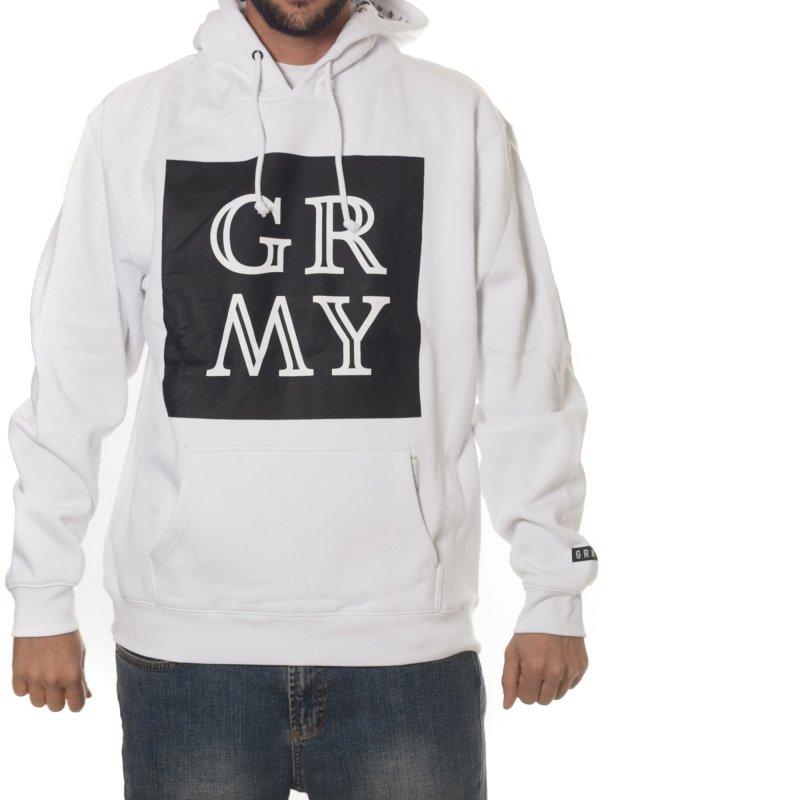 Grimey Sweatshirt: GRMY Hoodie FW15 WH | Buy Online | Fillow