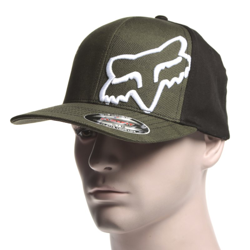 0009ebb1cce2a ... italy fox racing cap disaster flexfit army gn bk 98d9f fe53f