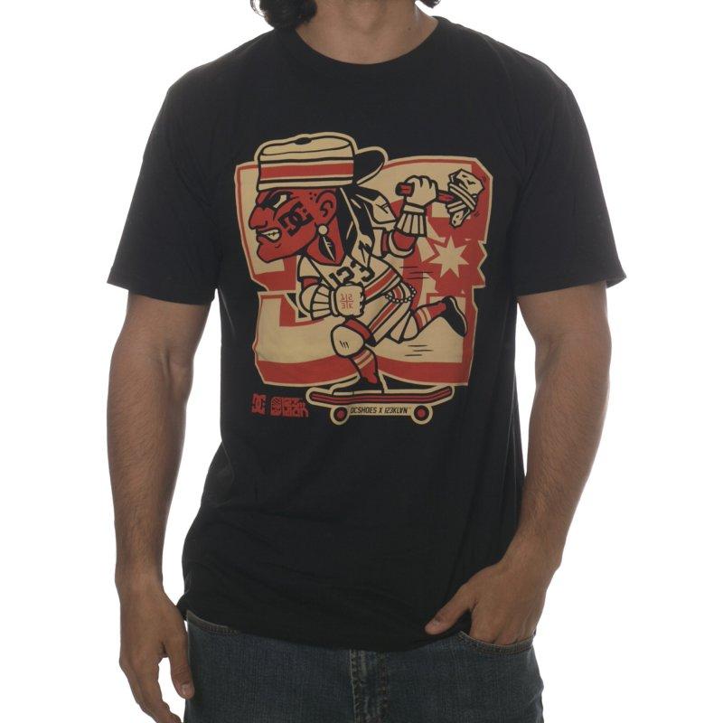 5d92c3f7a238fb DC Shoes T-Shirt  Basic SS E 123 Klan Chief BK