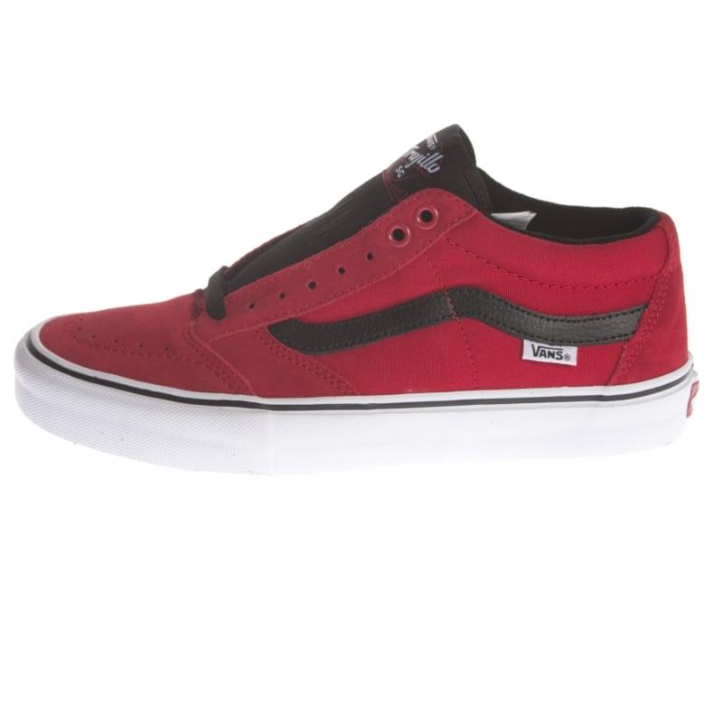 4d409ec50f3dba Vans Shoes  TNT Sg Bright Red RD BK