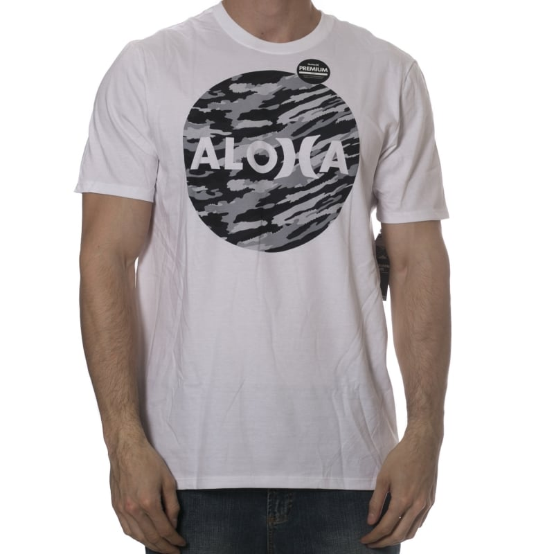 Hurley T-Shirt  John John Aloha Krush Premium WH  20b4c8beb09