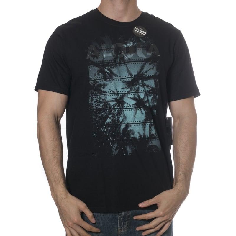 Hurley T-Shirt  JJF Photo Aloha Premium BK  55630780cec