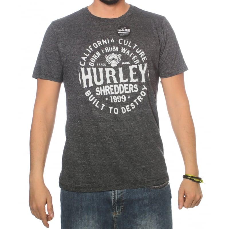 Hurley T-Shirt  Cylindrical Tri-Blend GR  611bc78d133