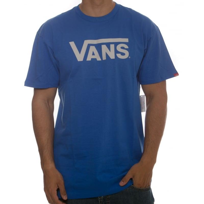 cefb39e82e8 Vans T-Shirt  M Vans Classic Royal Bright BL