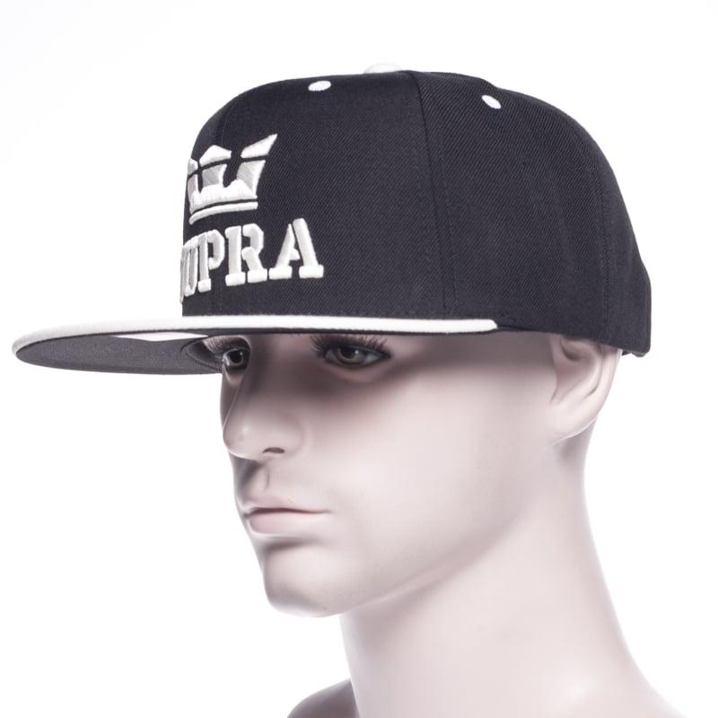 Supra Cap  Above Snap Black White BK  8bfedf9d1c7