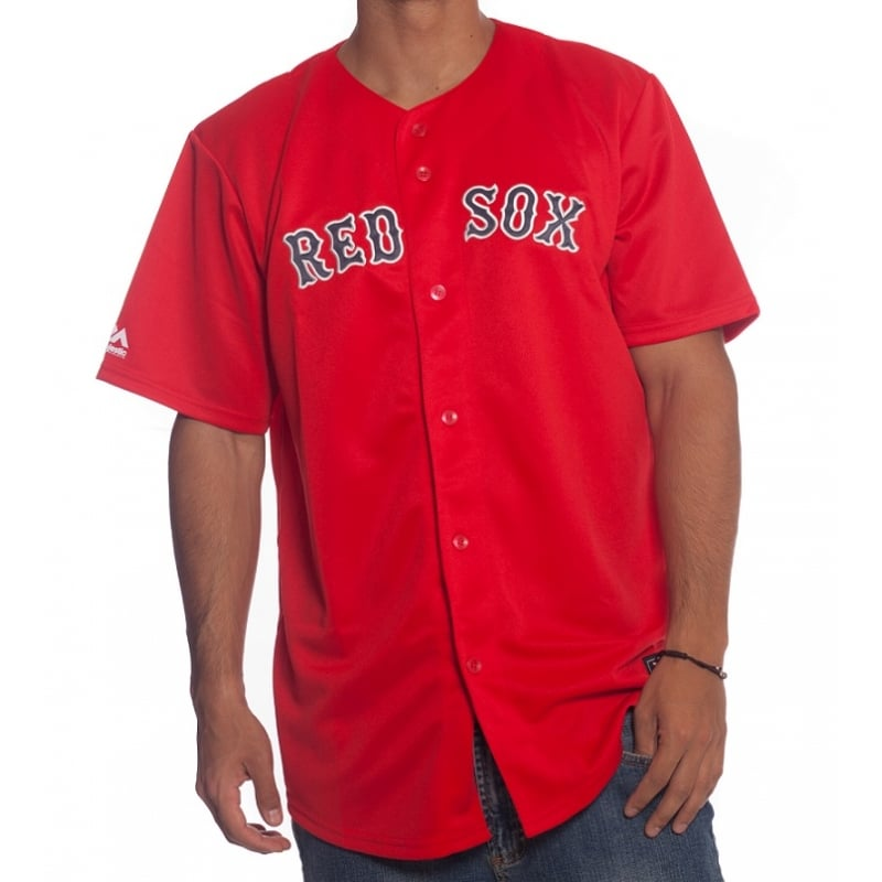 sports shoes f0989 909cb Majestic MLB Jersey: Boston Red Sox RD | Buy Online | Fillow ...