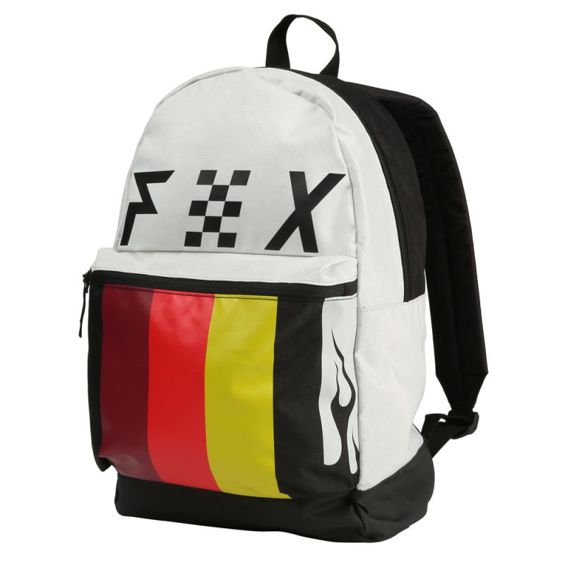 cfaee7bac2 Fox Racing Backpack: Rodka Kick Stand WH | Buy Online | Fillow Skate Shop