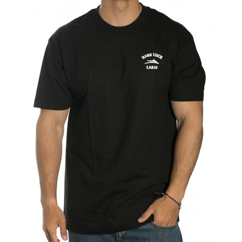 3c277d3d Lakai T-Shirt: Hard Luck Skull BK   Buy Online   Fillow Skate Shop